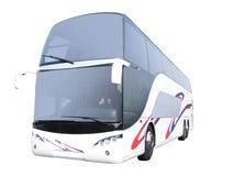bussdäckaredouble Arkivfoton