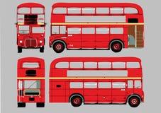 bussdäckaredouble Royaltyfria Foton