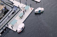 Busse des öffentlichen Wassers Stockbild