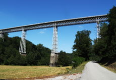 Busseau Viaduct Creuse France Stock Photography