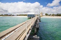 busselton jetty obrazy stock