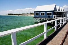 Busselton Jetty. In Western Australia royalty free stock photo