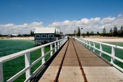 Busselton Jetty. In Western Australia stock photo