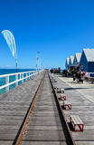 Busselton Jetty, Busselton, WESTERN AUSTRALIA royalty free stock photos