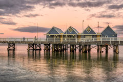 Busselton Jetty royalty free stock photography