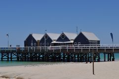The Busselton Jetty pier Western Australia Royalty Free Stock Image