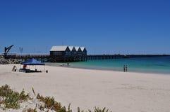 The Busselton Jetty pier Western Australia Stock Photography