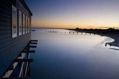 Busselton jetty Royalty Free Stock Photos