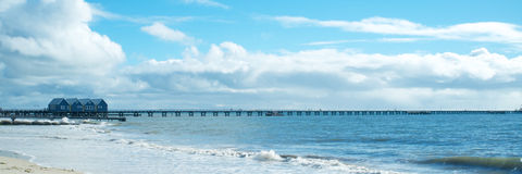 Busselton Jetty, south western Australia Royalty Free Stock Photo