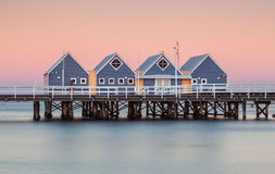 Busselton Jetty. At sunset the longest in the southern hemisphere Stock Image