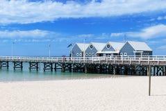 Busselton jetty in Western Australia Stock Image