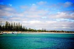 Busselton panorama. Busselton shoreline panorama - Western Australia Stock Image