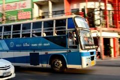 Bussen Arkivfoto
