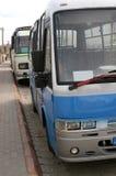 Bussen stock foto's