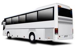 bussen turnerar Arkivfoto