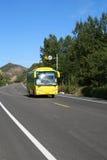 bussen turnerar Royaltyfri Bild