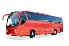 bussen turnerar Arkivbild
