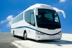 bussen turnerar Royaltyfri Fotografi
