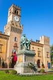 Busseto, de geboorteplaats van Giuseppe Verdi stock foto