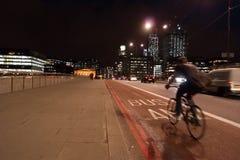 Bussfilhimmellinje london Arkivfoton