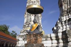 Busshist in Tailandia Immagini Stock