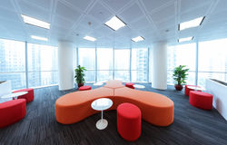 Bussiess office  Simple and stylish work place Royalty Free Stock Images