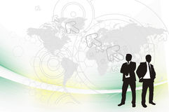 Bussines background Royalty Free Stock Image