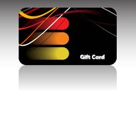 Bussines card. Vector image is a bussines card Royalty Free Stock Images