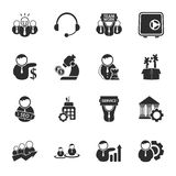 Bussines, finance 16 icons universal set for web and mobile. Flat Vector Illustration