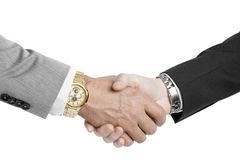 Bussines hand shaking Stock Photo