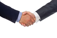 Bussines hand shaking. Will show succesful cooperation Royalty Free Stock Image