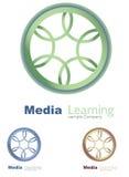 Bussines Logo. Media concept logo symbol illustration Stock Photo