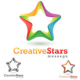 Bussines Logo. Concept logo symbol,colorful abstract  creative illustration Royalty Free Stock Photography