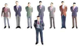 Bussines Management Hierarchy Stock Image