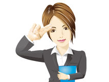 Bussines Woman 1 Stock Image