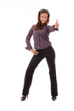 Bussines woman posing stock photography