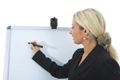 Bussines woman  working Royalty Free Stock Photo