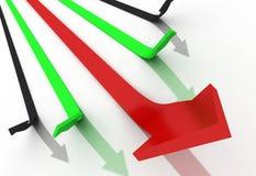 Bussiness arrow Stock Photo
