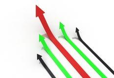 Bussiness arrow Stock Photos