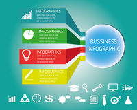 Bussiness infographic Royalty Free Stock Photos