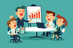 Bussiness meeting Royalty Free Stock Images