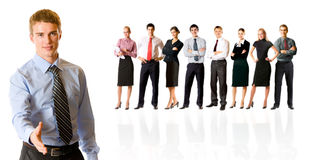 Bussiness team Stock Photo