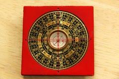 Bussola cinese di Yin Yang Fotografie Stock Libere da Diritti