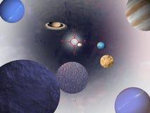 Bussola dell'universo Fotografia Stock