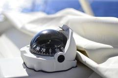Bussola della barca Fotografie Stock