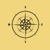 Bussola di rosa del vento Illustrazione di vettore Fotografia Stock