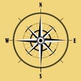 Bussola di rosa del vento Illustrazione di vettore geografia Fotografia Stock