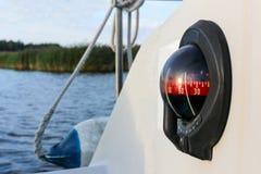 Bussola su un yacht Immagine Stock