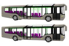 Busssida Royaltyfri Bild