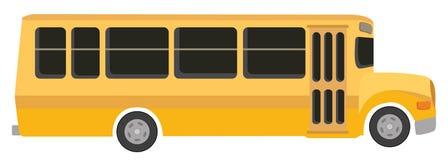 bussskola royaltyfri illustrationer